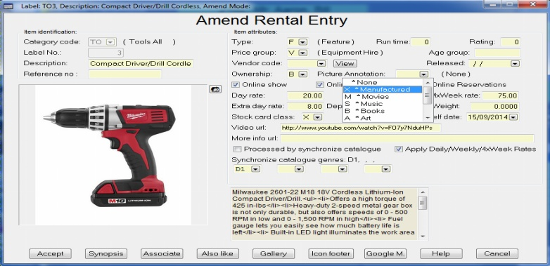 unforgetable experience retail rentals software web app
