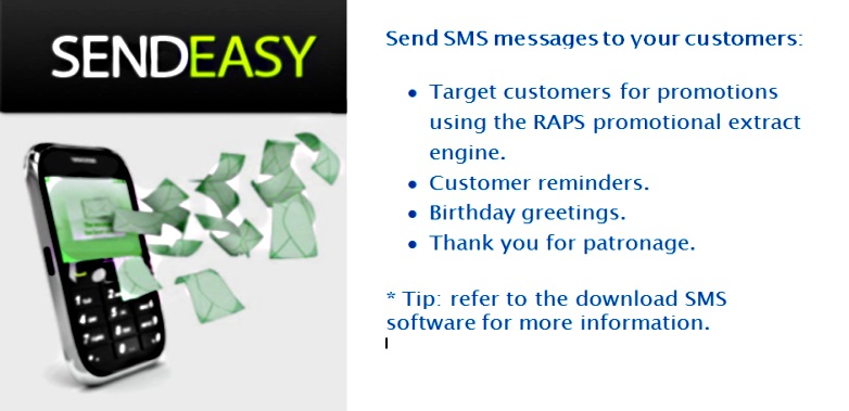 SMS targeted mobile messages to your customers
